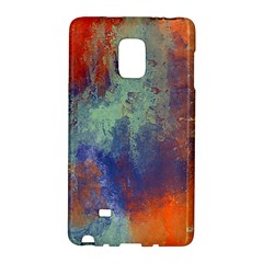 Abstract in Green, Orange, and Blue Galaxy Note Edge