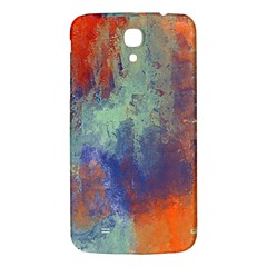 Abstract in Green, Orange, and Blue Samsung Galaxy Mega I9200 Hardshell Back Case