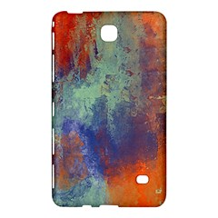 Abstract in Green, Orange, and Blue Samsung Galaxy Tab 4 (7 ) Hardshell Case