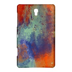 Abstract in Green, Orange, and Blue Samsung Galaxy Tab S (8.4 ) Hardshell Case