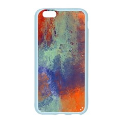 Abstract in Green, Orange, and Blue Apple Seamless iPhone 6 Case (Color)