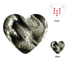 Brilliant Metal 5 Playing Cards (Heart)