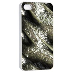Brilliant Metal 5 Apple iPhone 4/4s Seamless Case (White)