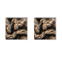 Brilliant Metal 4 Cufflinks (square)