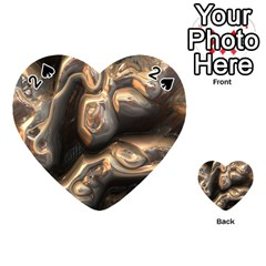 Brilliant Metal 4 Playing Cards 54 (Heart)