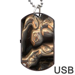 Brilliant Metal 4 Dog Tag USB Flash (One Side)