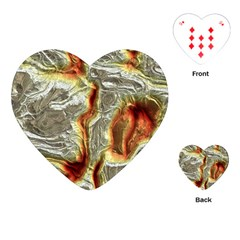 Brilliant Metal 3 Playing Cards (Heart)