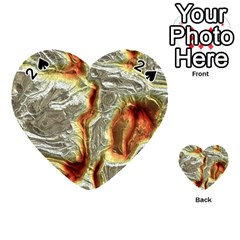 Brilliant Metal 3 Playing Cards 54 (Heart)