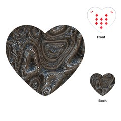 Brilliant Metal 2 Playing Cards (Heart)
