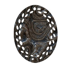 Brilliant Metal 2 Oval Filigree Ornament (2-Side)