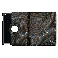 Brilliant Metal 2 Apple Ipad 2 Flip 360 Case