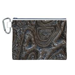 Brilliant Metal 2 Canvas Cosmetic Bag (l)