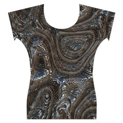 Brilliant Metal 2 Women s Cap Sleeve Top