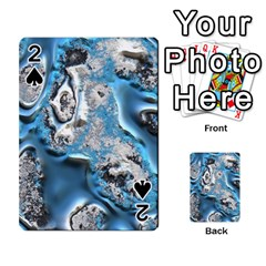 Metal Art 11, Blue Playing Cards 54 Designs