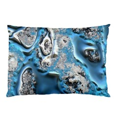Metal Art 11, Blue Pillow Cases