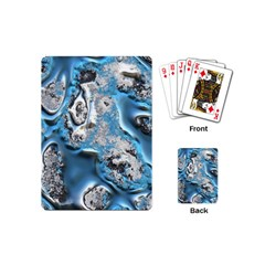 Metal Art 11, Blue Playing Cards (mini)