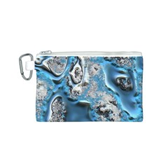 Metal Art 11, Blue Canvas Cosmetic Bag (s)