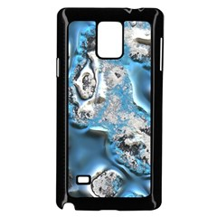 Metal Art 11, Blue Samsung Galaxy Note 4 Case (Black)