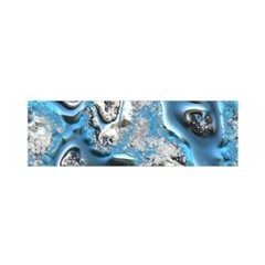 Metal Art 11, Blue Satin Scarf (Oblong)