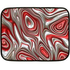 Metal Art 9 Red Fleece Blanket (mini)
