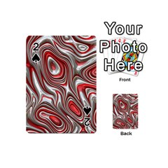 Metal Art 9 Red Playing Cards 54 (mini)