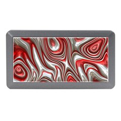 Metal Art 9 Red Memory Card Reader (Mini)