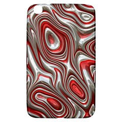 Metal Art 9 Red Samsung Galaxy Tab 3 (8 ) T3100 Hardshell Case