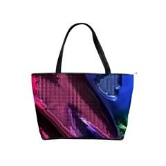 Colorful Broken Metal Shoulder Handbags