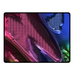 Colorful Broken Metal Fleece Blanket (Small)