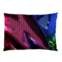 Colorful Broken Metal Pillow Cases (two Sides)
