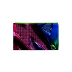 Colorful Broken Metal Cosmetic Bag (XS)
