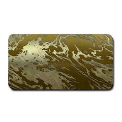Metal Art Swirl Golden Medium Bar Mats
