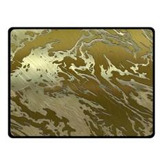 Metal Art Swirl Golden Fleece Blanket (Small)