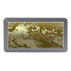 Metal Art Swirl Golden Memory Card Reader (mini)
