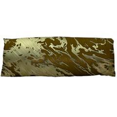 Metal Art Swirl Golden Body Pillow Cases Dakimakura (Two Sides)