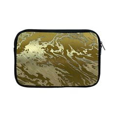 Metal Art Swirl Golden Apple Ipad Mini Zipper Cases