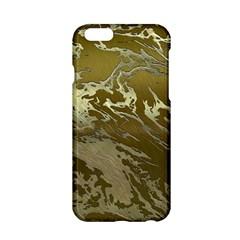 Metal Art Swirl Golden Apple Iphone 6/6s Hardshell Case