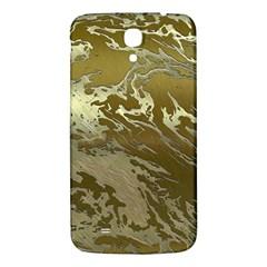 Metal Art Swirl Golden Samsung Galaxy Mega I9200 Hardshell Back Case