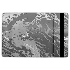 Metal Art Swirl Silver iPad Air 2 Flip