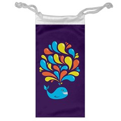 Colorful Happy Whale Jewelry Bags