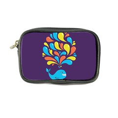 Colorful Happy Whale Coin Purse