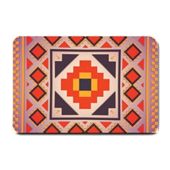 Rustic Abstract Design Small Doormat