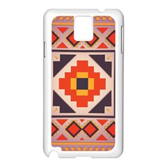 Rustic Abstract Design Samsung Galaxy Note 3 N9005 Case (white)