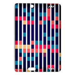 Stripes And Rectangles Pattern Kindle Fire Hd (2013) Hardshell Case