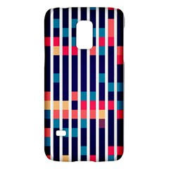 Stripes And Rectangles Patternsamsung Galaxy S5 Mini Hardshell Case