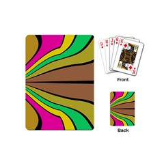 Symmetric Waves Playing Cards (mini)