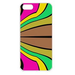 Symmetric Waves Apple Iphone 5 Seamless Case (white)