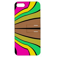 Symmetric Waves Apple Iphone 5 Hardshell Case With Stand
