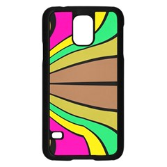 Symmetric Waves	samsung Galaxy S5 Case