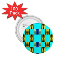 Triangles In Rectangles Pattern 1 75  Button (100 Pack)